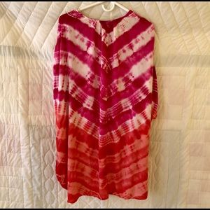 4257e25f352 Catherines Swim | Plus Size Tie Dye Suit Cover Up 1x | Poshmark